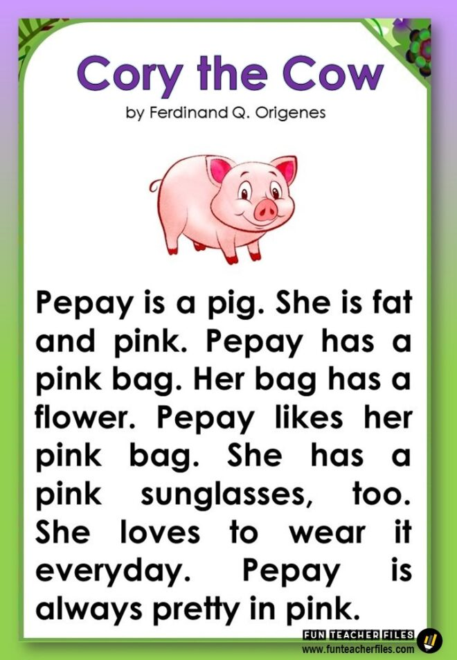 Animal Reading Passages - Fun Teacher Files